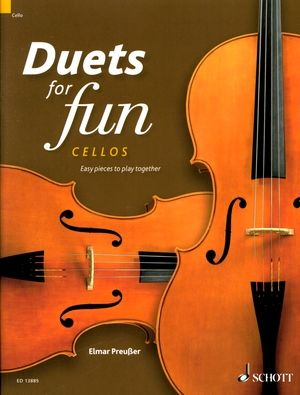 Elmar PREUSSER Duets for Fun cellos