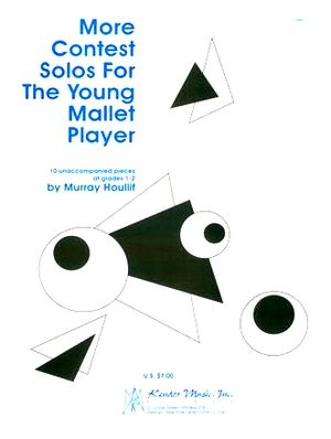 Murray HOULLIFF More Contest Solos For The Young Mallet Player