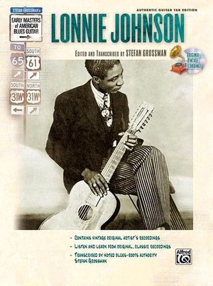 Lonnie JOHSON Early Masters Of American Blues Guitar + CD