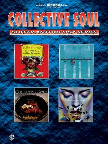 COLLECTIVE SOUL Guitar Anthology Series TAB