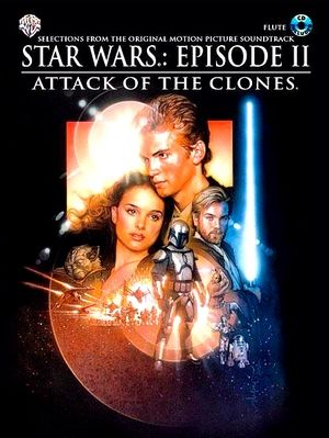 Songbook Star Wars: Episode II (Attack Of The Clones) Flûte + CD