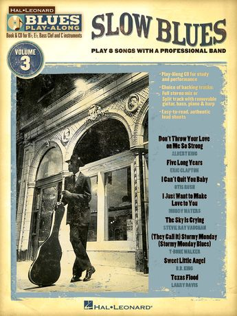 """Songbook Blues Play-Along vol.3 + CD """"Slow Blues"""""""