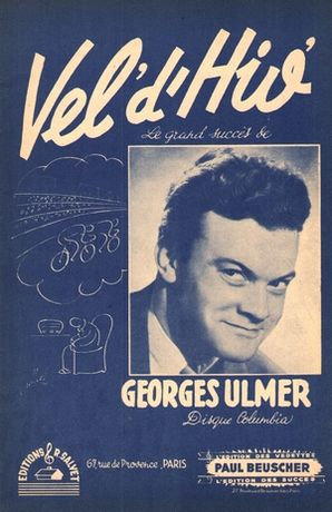 Partition Georges ULMER Vel d'Hiv