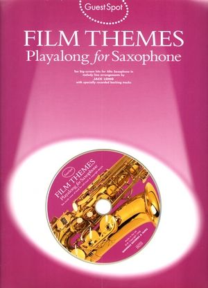 Songbook Guest Spot Film Theme Playalong For Saxophone + CD (Wise Publications) (PROMO)