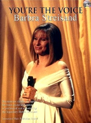 Songbook Barbara STREISAND You're The Voice + CD (PROMO)