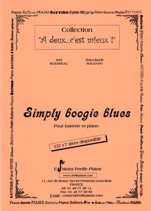 Partition Pascal PROUST Simply Boogie Blues (PROMO)