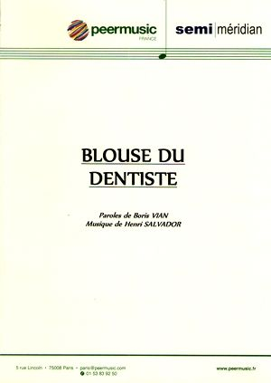Blouse de dentiste