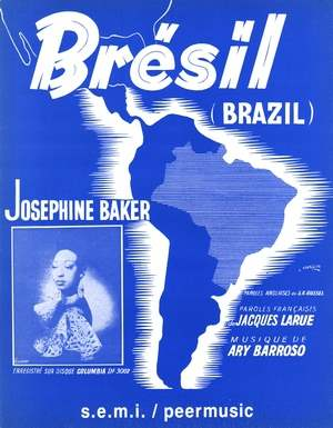 Brésil (Brazil) (Aquarela do Brazil)