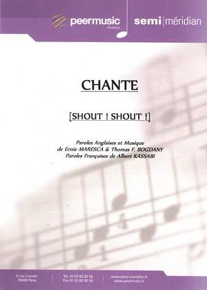 Chante (Shout! Shout!) (Knock Yourself Out)