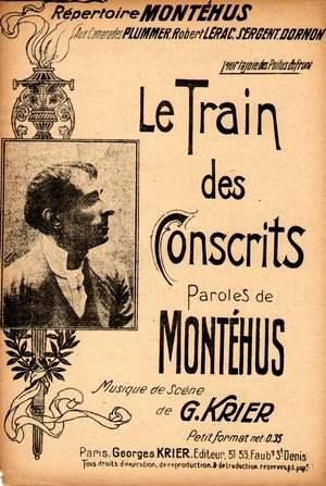 Le train des conscrits