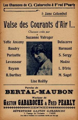 Valse des courants d'air!...