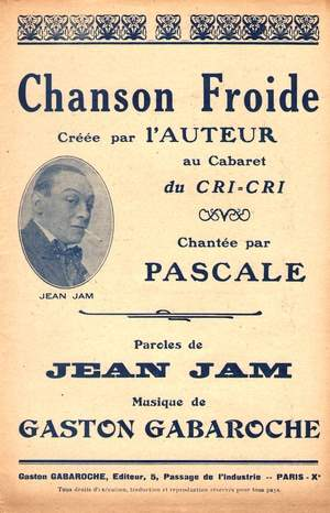 Chanson froide