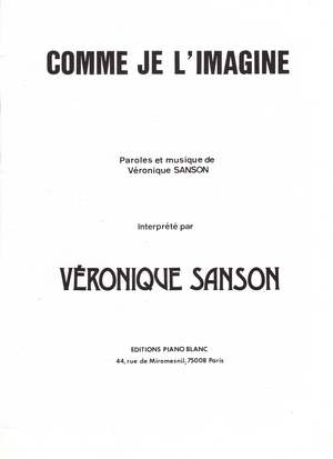 Comme je l'imagine