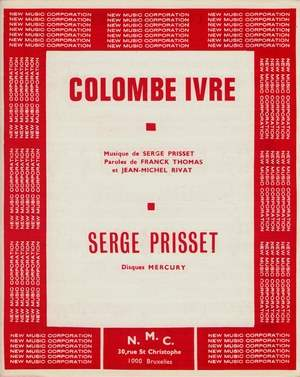 Colombe ivre