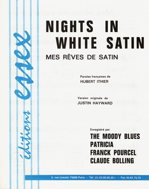 Nights In White Satin (Mes rêves de satin)