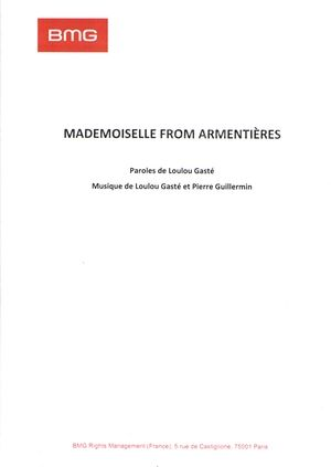 Mademoiselle From Armentières