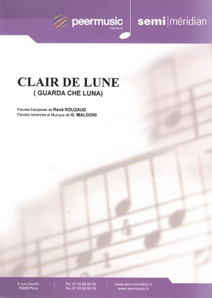 Clair de Lune (Guarda che Luna)