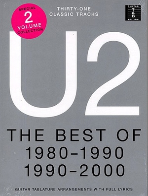 U2 The best of 1980-1990 & 1990-2000 TAB