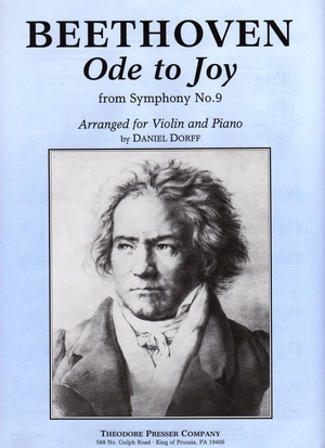 Ludwig Van BEETHOVEN Ode To Joy (From Symphony n°9)