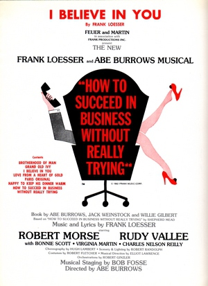 """I Believe In You (From the Musical """"How To Succees In Business Without Really Trying"""")"""