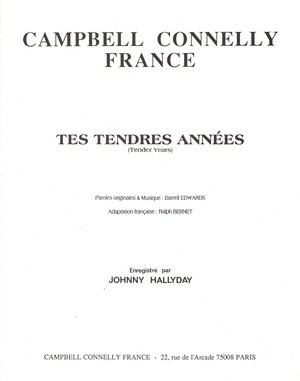 Tes tendres années (Tender Years)