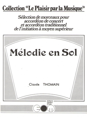 Claude THOMAIN Mélodie en Sol