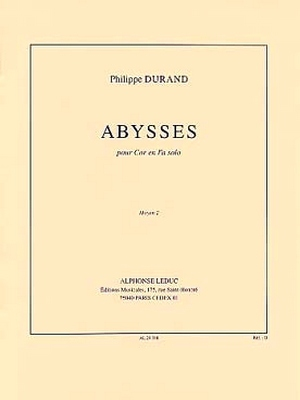 Philippe DURAND Abysses