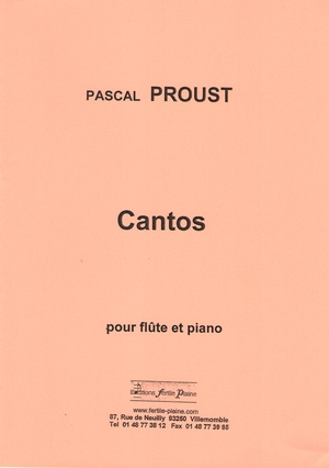 Pascal PROUST Cantos