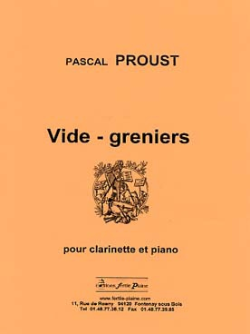 Pascal PROUST Vide-greniers (Clarinette & piano)