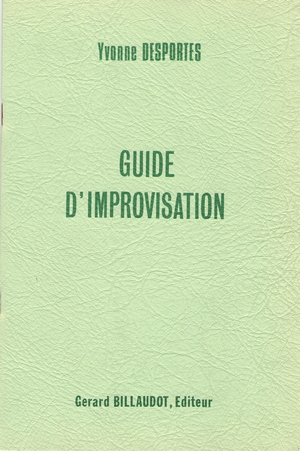 Yvonne DESPORTES Guide d'improvisation