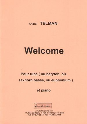 André TELMAN Welcome
