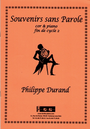 Philippe DURAND Souvenirs sans paroles