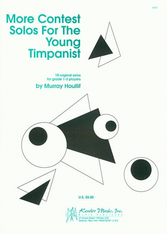 Murray HOULLIF Contest Solos For The Young Timpanist
