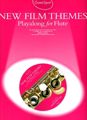 Guest Spot New Film Theme Playalong For Flute + CD
