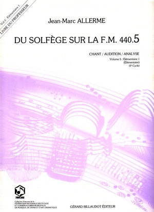 Jean-Marc ALLERME Du solfège sur la FM 440.5 (chant/audition/analyse)