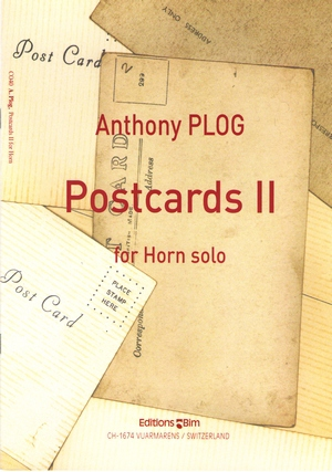 Anthony PLOG Postcards II