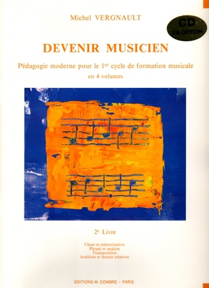 Michel VERGNAULT Devenir musiciens vol.2 + CD