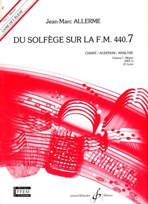 Jean-Marc ALLERME Du solfège sur la FM 440.7 (chant/audition/analyse)
