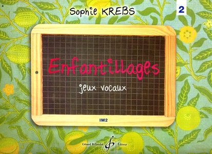 Sophie KREBS Enfantillages vol.2