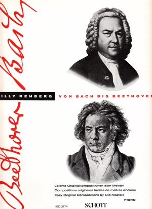 Willy REHBERG Von Bach bis Beethoven vol.1