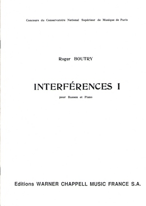 Roger BOUTRY Interférences 1