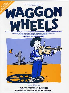 Katherine & Hugh COLLEDGE Waggon wheels