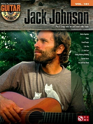 Jack JOHNSON Guitar Play-Along vol.181 + CD