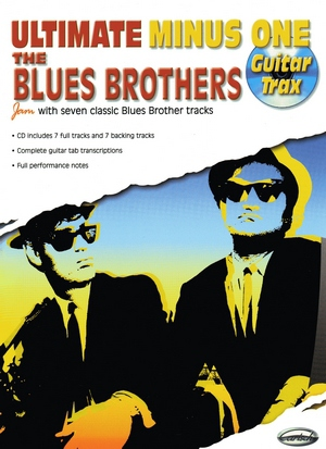 THE BLUES BROTHERS Ultimate Minus One Guitar Trax + CD