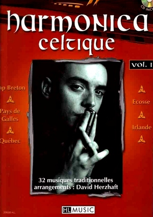 David HERZHAFT Harmonica celtique vol.1 + CD