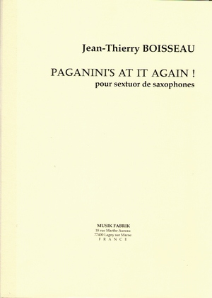 Jean-Thierry BOISSEAU Paganini's At It Again