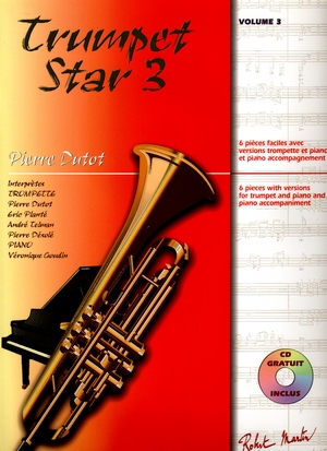 Pierre DUTOT Trumpet Star vol.3 + CD