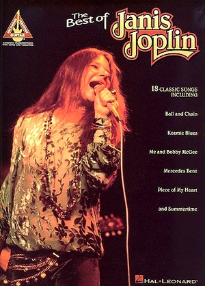 The Best Of Janis JOPIN Guitar Recorde Versions TAB