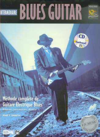 Matt SMITH Intermédiaire Blues Guitar + CD