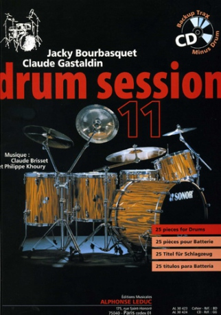 Jacky BOURBASQUET & Claude GASTALDIN Drum session 11 + CD